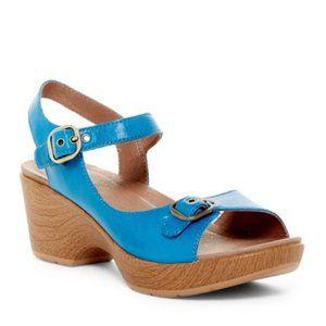 Dansko 41 Joanie Sandals 9701552200 Open Toe Shoes
